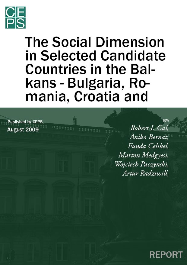 The Social Dimension in Selected Candidate Countries in the Balkans – Bulgaria, Romania, Croatia and Turkey: Synthesis Report