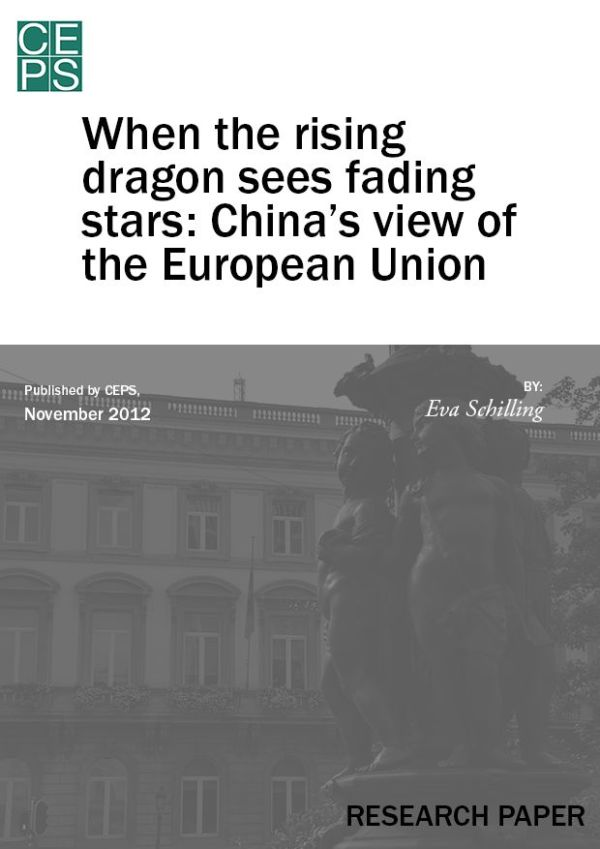 When the rising dragon sees fading stars: China's view of