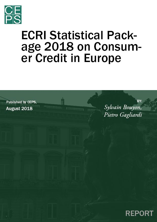 ECRI Statistical Package 2018 on Consumer Credit in Europe